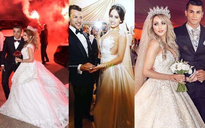 Cette saison été 2017 était un vrai carnaval de fêtes de mariages, à savoir  les mariages des joueurs de football. Si vous souhaitez revivre ses plus  beaux