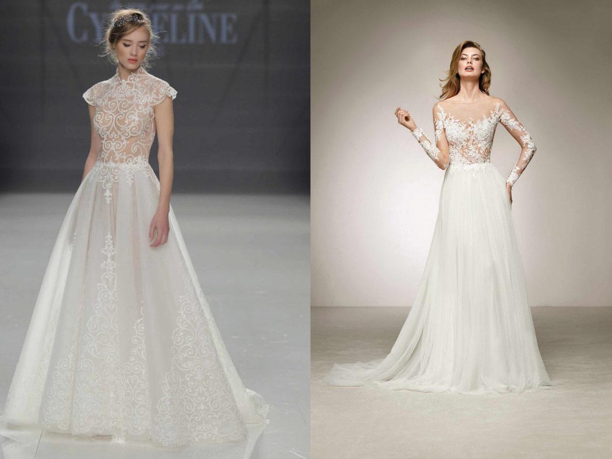 Top model robe de mariage