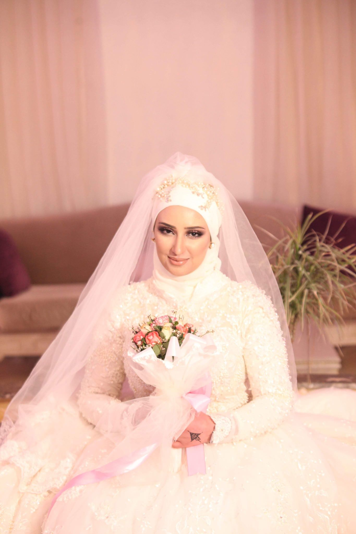 Tesnim_M10_plus_belles_mariées_tunisiennes2019