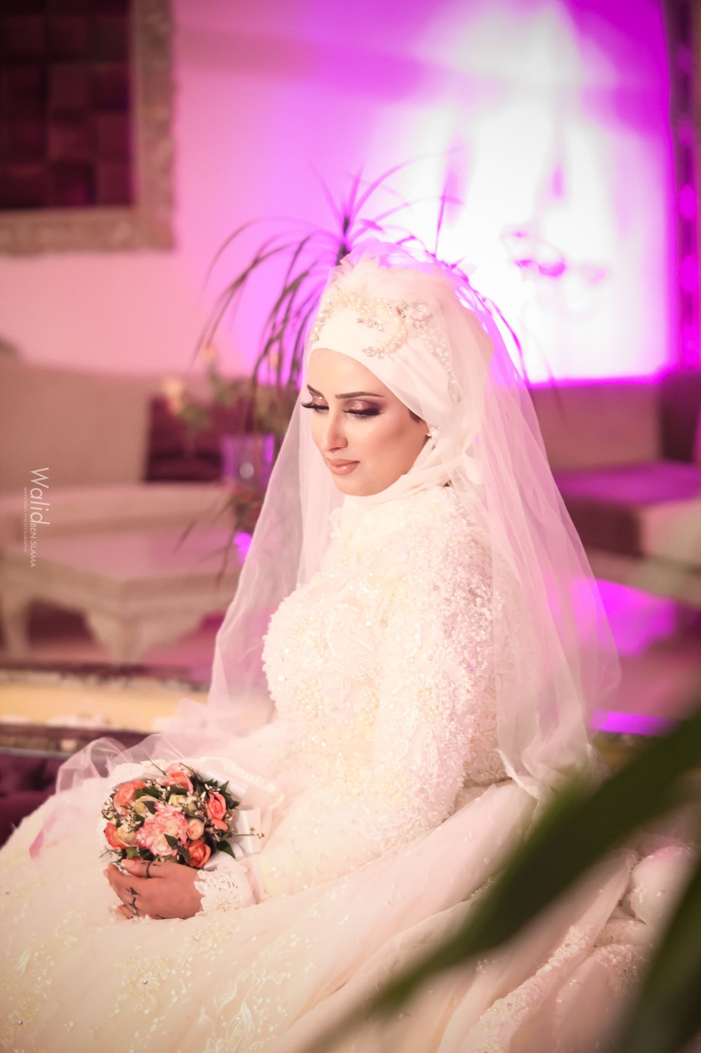 Tesnim_M6_plus_belles_mariées_tunisiennes2019