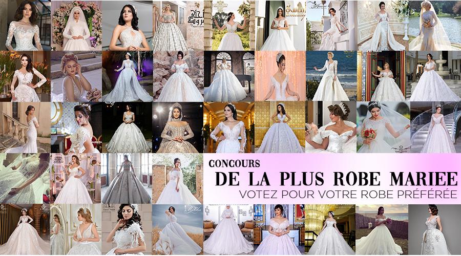 robe de mariée Tunisie concours jolie robe de l'année 2019