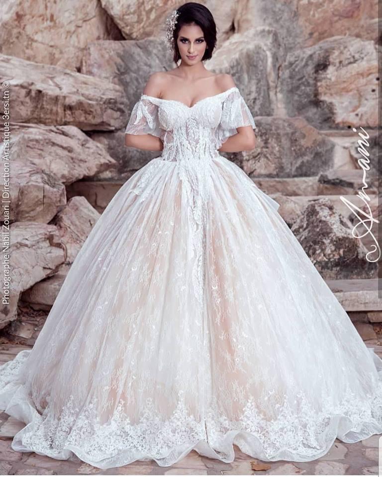 robe de mariage 2019, amani, espace amani tunis