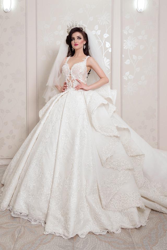 robe de mariage 2019, versaille bizerte