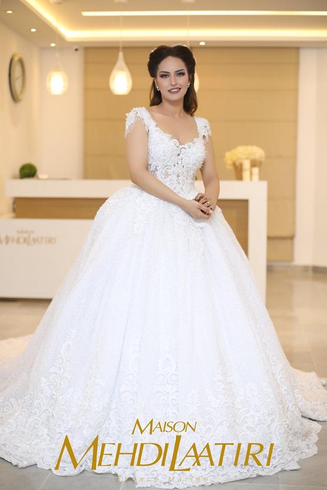 Mahdi Laatiri nouvelle collection de robes de mariage été 2019