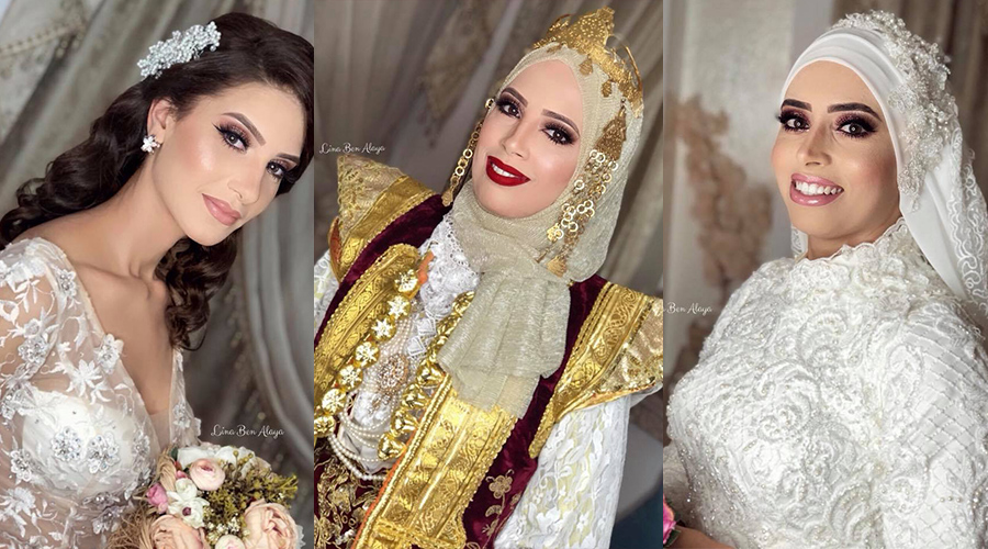lina ben alaya make up